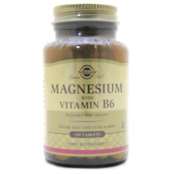 Magnesium plus Vitamin B6