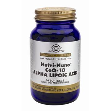 Nutri-Nano CoQ-10 Alpha Lipoic Acid
