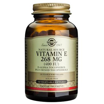 Vitamin E 268mg Vegetable Softgels