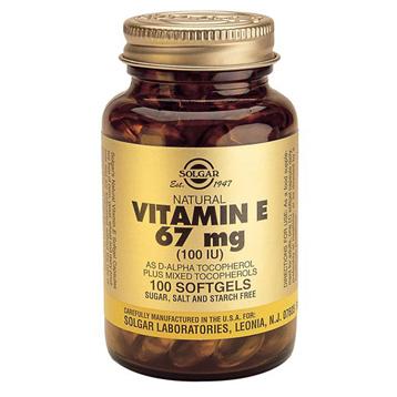 Vitamin E 67mg Softgels