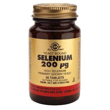 Yeast Bound Selenium 200ug