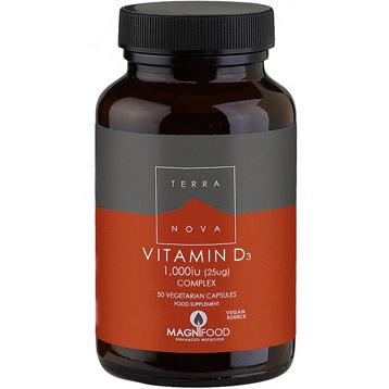 Vitamin D3 1000 IU 50 Vegetarian Capsules