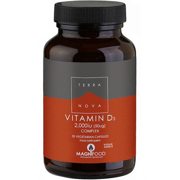 Vitamin D3 2000 IU 50 Vegetarian Capsules