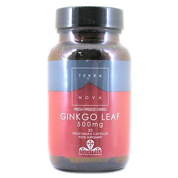 Ginkgo Leaf 500mg