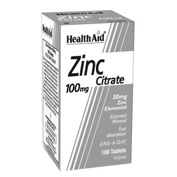 Zinc Citrate 100mg